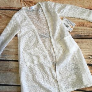 White Girls Sariah Lularoe Cardigan